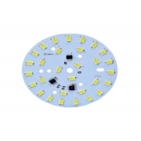 Quality High conductivity MCPCB for LED lighting Aluminium double sided 1.6mm lead free HASL 2 layer LED PCB for sale