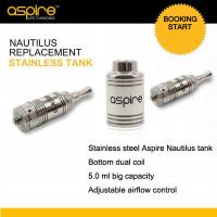 Quality Aspire Nautilus BDC Stainless Steel Tanks Replacement NEW Arrival for sale