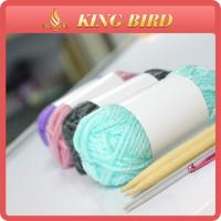 Best High tenacity DIY crochet / knitting acrylic yarn of 10 grams ball wholesale
