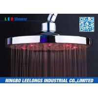 Best Ceiling Rainfall Luxurious Detachable SPA Rain Shower Head With LED Lights wholesale