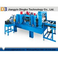 China High Efficiency Multi Punching Cable Tray Manufacturing Machine 45 Degree Cutting on sale