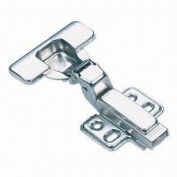 Quality Concealed Hinge with Cover and Four-hole Baseplates, Made of Cold-rolled Steel Material for sale