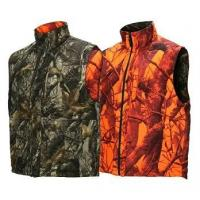 Quality Shooting Waistcoat Orange Blaze Camouflage Hunting Vest Realtree Reversible Insulated Hunting Vest for sale