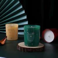 Quality CLP Sustainable Eco Friendly Strong Scented Soy Candles for sale