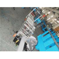 Quality Aluminum Sheet Portable Downspout Roll Forming Machine With Fly Saw Cutting for sale