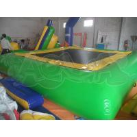 Quality Inflatable Green Water Trampoline for sale