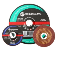 Quality 4 In X 1/4 In X 5/8 In Resin Bonded T27 Grinding Wheel For Polishing Stainless Steel for sale