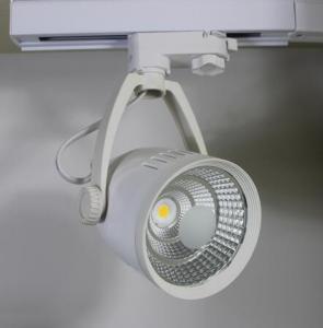 Quality 30W Cree LED COB Track Light 360 Degree horizontal rotation for sale