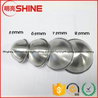 factory direct supply 304 stainless steel bathroom accessories bath bomb mold 85mm 75mm 45mm 65mm