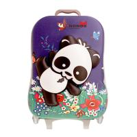 Quality 3D Cartoon Panda Children'S Suitcases On Wheels ROHS Approve NHL001 for sale