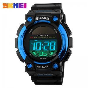 China Blue Safety Strap Digital Pocket Watch Longest Life Japan Battery on sale