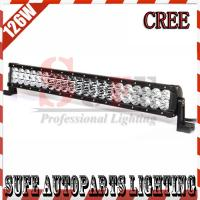 Best 23 INCH 126W CREE LED LIGHT BAR 12V FLOOD OFFROAD LAMP FOR TRACTOR BOAT MILITARY EQUIPMENT wholesale