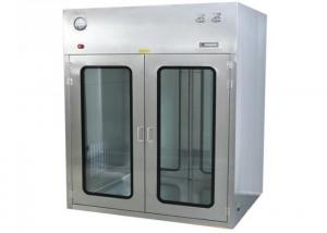 Quality ISO Approved Observation Window Cleanroom Pass Box For Precise Instrument for sale