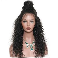 China Glam 180 Density Brazilian Virgin Full Lace Human Hair Wigs With Baby Hair on sale