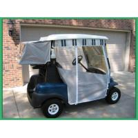 Track Style Golf Cart Enclosures 3  Sided Nylon Golf Cart Covers Light Weigh