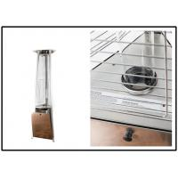 Quality 650mm Triangle Quarz Glass Tube Patio Heater Stainless Steel Or Powder Coated for sale