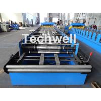 Buy Metal Glazed Wave Tile Roll Forming Machine With Welded Wall Plate Frame and at wholesale prices