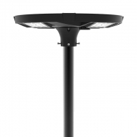 Quality All In One IP65 20W Solar Led Garden Light MPPT Intelligent Control for sale