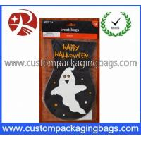 Quality Custom Biodegradable Plastic Treat Bags DIY Halloween Trick Or Treat For Boys for sale