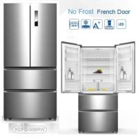 Quality Auto Defrost French Fridge Freezer , French Door Style Refrigerators 4 Star Rating for sale