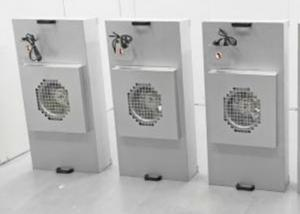 Quality Galvanized Aluminum HEPA Fan Filter Unit / FFU 1175x575mm For Clean Booth for sale