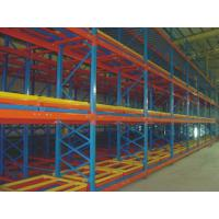 Quality Warehouse Push Back Pallet Racking Industrial Storage Racking Systems for sale