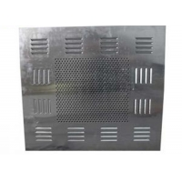 Quality Low Noise SUS304 Exhaust Fan Filter Box HEPA Filter Box For Clean Room for sale