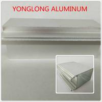 Quality Silver Color Polished Aluminum Profile T5 For Window / Door Materials for sale