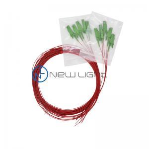 Quality SC UPC 1310nm OS2 Fiber Optic Patch Cords 9/125um for sale