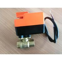 Quality Water Proof 2 Way / 3 Way Fcu Motorized Valve , Fan Coil Unit Components for sale