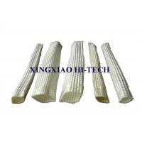 Quality White Color Wall Braided Heat Insulation Sleeve Flame Retardant 2.0 - 150mm for sale