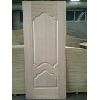 Quality 5 - 10% Moisture HDF Door Skin High Durabiloity Wood Veneer Door Skin for sale