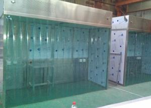 Quality Class A AC220V Laminar Flow Booth For Pharmaceutical Factory for sale