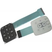 Waterproof Touch Screen Tactile Membrane Switch Customizable Keypad