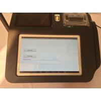 Quality Smart Fingerprint Authentication Wireless POS Terminal with Build - in Camera for sale