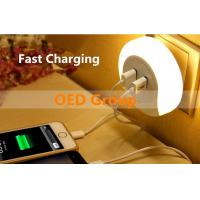 Quality Phone Charger LED Night Light with USB/Socket for Bedroom for sale