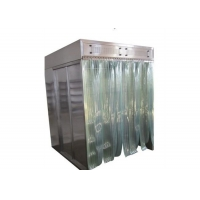 Quality Stainless Steel Material Cabinet Dispensing Booth With Free Design Drawing for sale