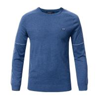 China Trendy Men's Winter Knit Sweaters Pullover With Round Neck Light Weight on sale
