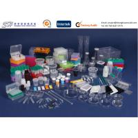 Quality Labware plastic centrifuge tube , Clear plastic beakers tools in science laboratory for sale