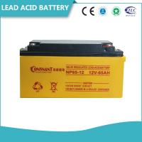 Quality Customized UPS Accessories 6V & 12V Valve Regulated Lead Acid Battery Non - Spillable for sale