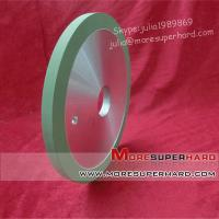 Quality 1A1 flat shaped vitrified/ceramic diamond grinding wheel for Natural diamond for sale
