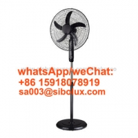 Quality 16 inch 18 inch Home Appliances Electric Standing Fan with round base /AC Power Source /Plastic Grill/ Ventilador De Pie for sale