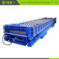 Quality Corrugated Roof Roll Forming Machine , Corrugated Roof Iron Sheet Making Machine for sale