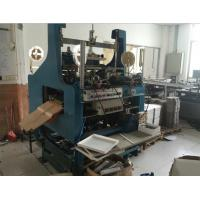 Quality Friendly HMI Four Corner Pasting Machine On Line Feeding Cardboard Table for sale