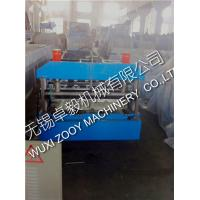 Quality Metal Corrugated Sheet Cladding Roof Panel Roll Forming Machine With Hydraulic Station for sale