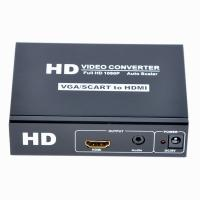 Quality VGA+SCART+Stereo to  Converter Supports OSD Menu Operation for sale