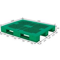 Quality 1200X1000X78mm Customized Grid Dampproof HDPE Plastic Storage Pallet for Warehouse for sale