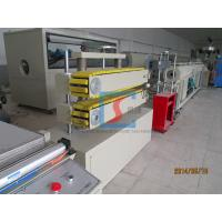 Best Electric Plastic Extruding Machine , PVC Water Pipe Plastic Extrusion Machinery wholesale