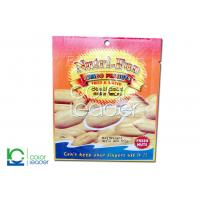 China Polypropylene Resealable Flat Nut Packaging Bag For Freeze Dried Fruit on sale