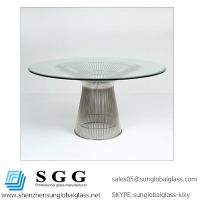 Quality CE& SGS certificated Grade A high quality Beveled Glass Top for sale